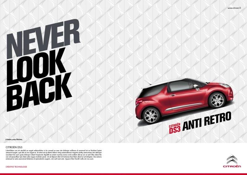 Citroën spouští ostrou kampaň na DS3. Útočí proti retro stylu