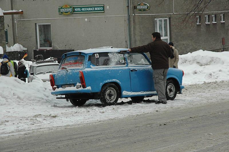 Radegast 2009: Trabanti na sněhu i pod sněhem