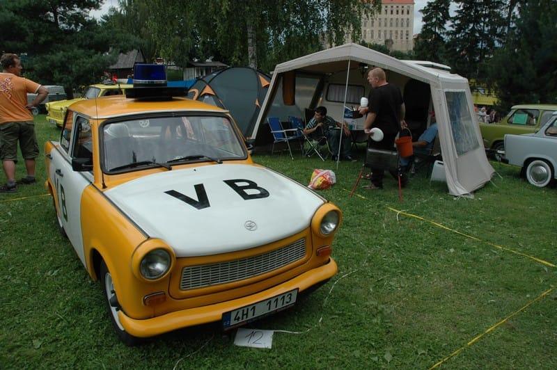 Fotoreportáž: Retro návrat do zlatých časů Trabanta