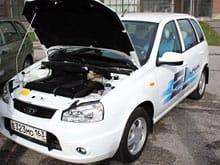 Koncept Ellada: Lada Kalina jako sériový elektromobil