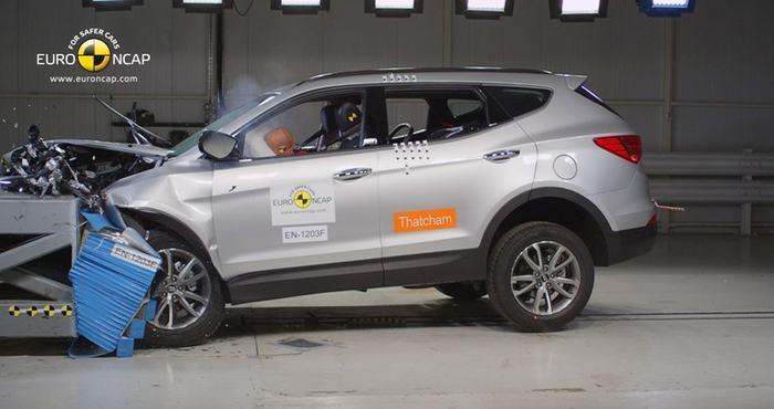 Crash test: nový Hyundai Santa Fe dostal pět hvězdiček
