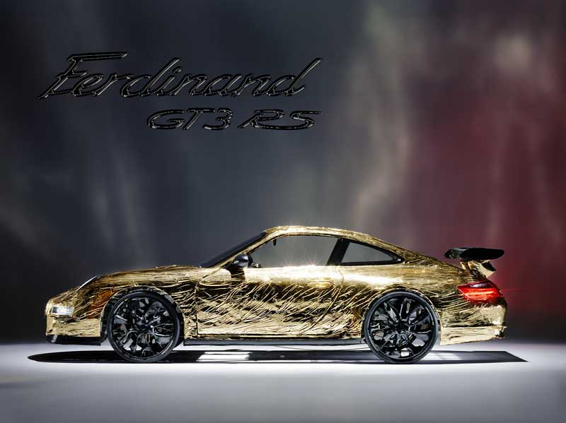VIDEO: Ferdinand GT3 RS aneb Porsche vážící 100 kg