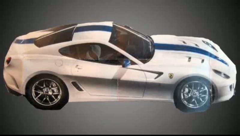 Ferrari 559 GTO: první fotka a pár informací