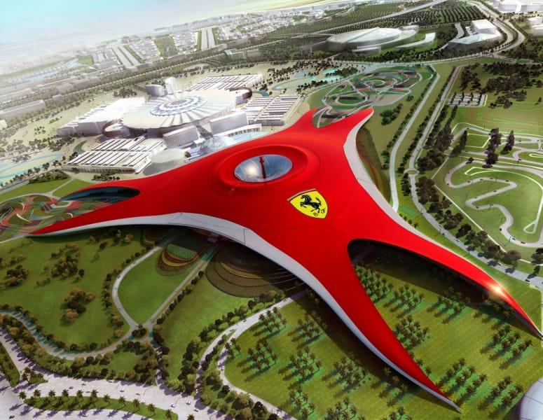 Ferrari už příští rok otevře zábavní park v Abu Dhabi