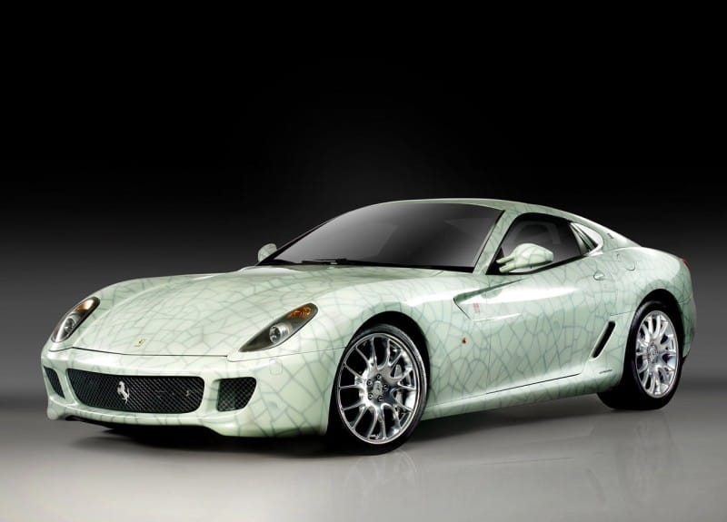 Ferrari 599 GTB China se vydražilo za 1,77 milionu dolarů