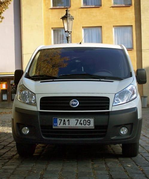 Fiat Scudo Van 2.0: nažhavený praktik