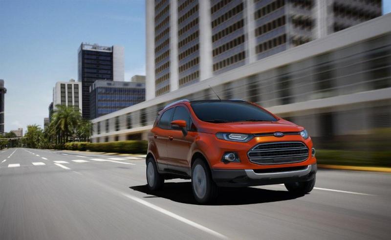 Ford Fusion dostává nástupce: zatím studii EcoSport