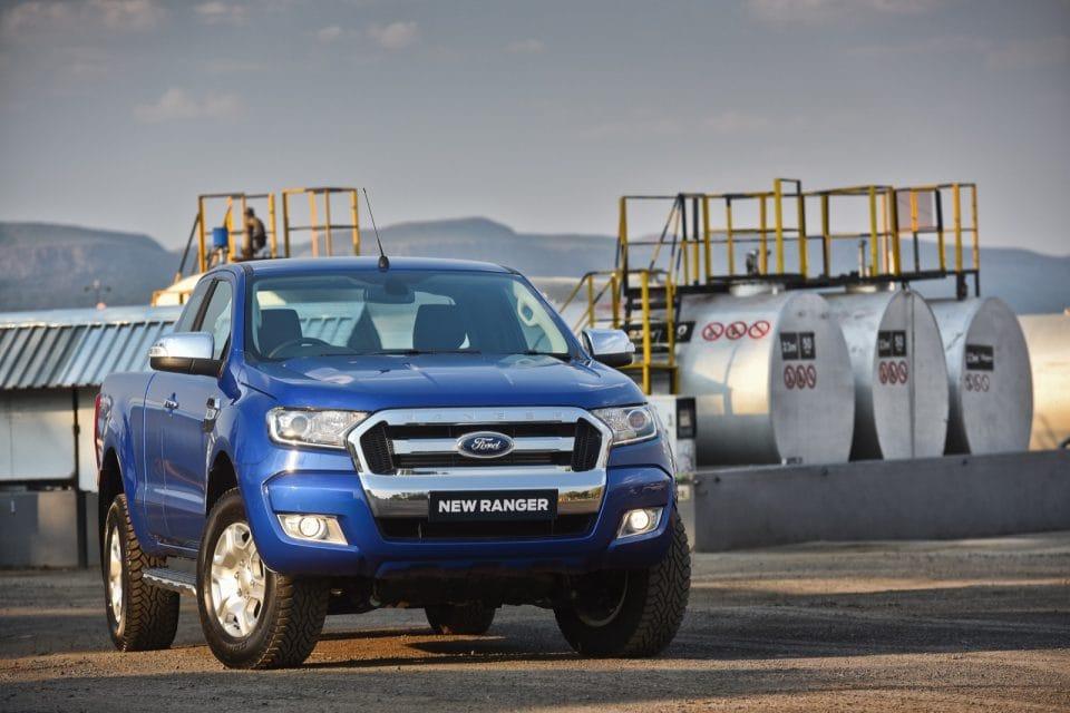 Facelift pro Ford Ranger: masivnější maska a akce za 491 tisíc + DPH