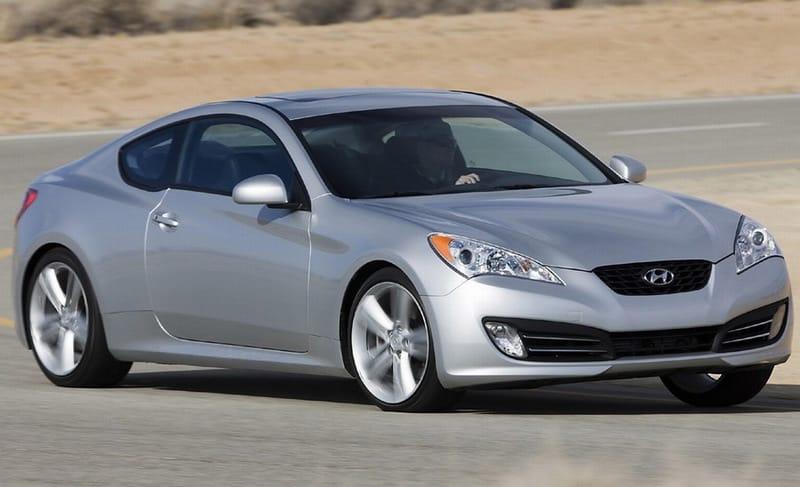 První fotografie Hyundai Genesis Coupé