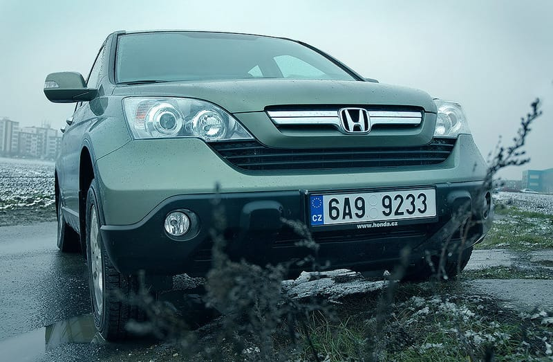 Honda CR-V 2.0: na silnici jako král