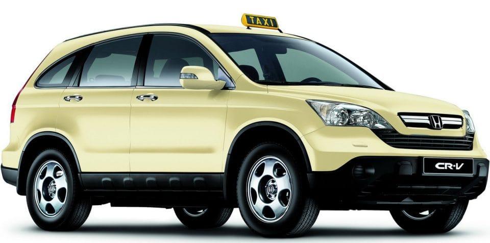 Honda CR-V jako taxi už z výroby? V Německu není problém