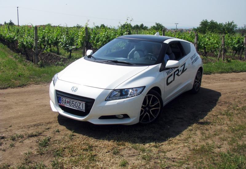 Honda CR-Z: první jízdní dojmy