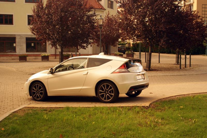 Honda CR-Z 1.5 i-VTEC Hybrid: pseudointelektuální sportovec