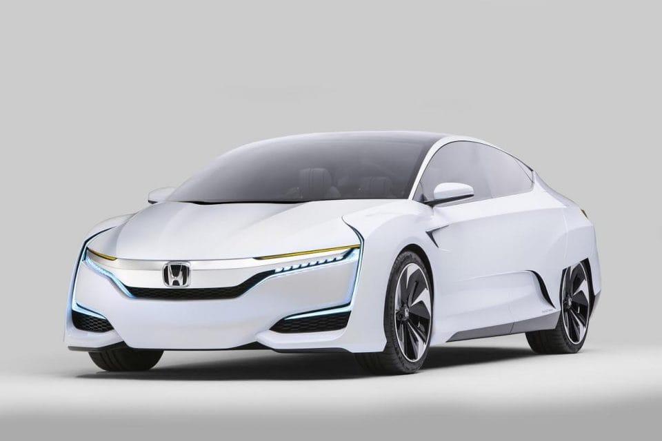 Honda FCV Concept: sériové auto na vodík v roce 2016