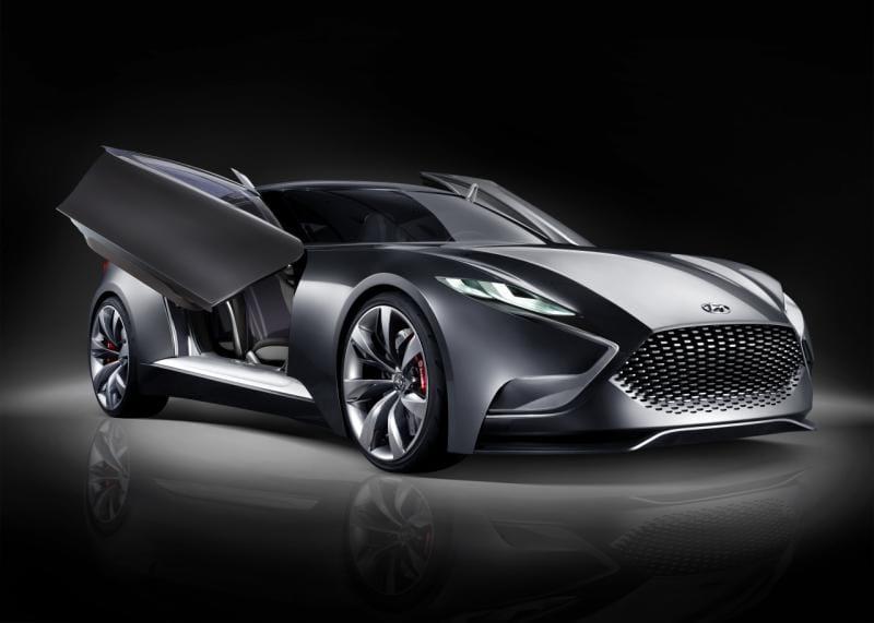 Koncept sportovního kupé podle Hyundai: HND-9