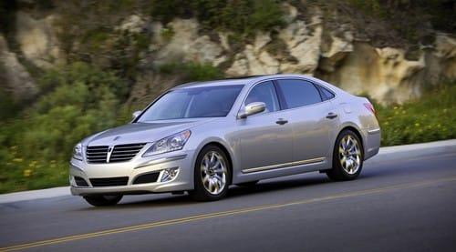 Hyundai Equus: luxusní limuzína z Koreje představena