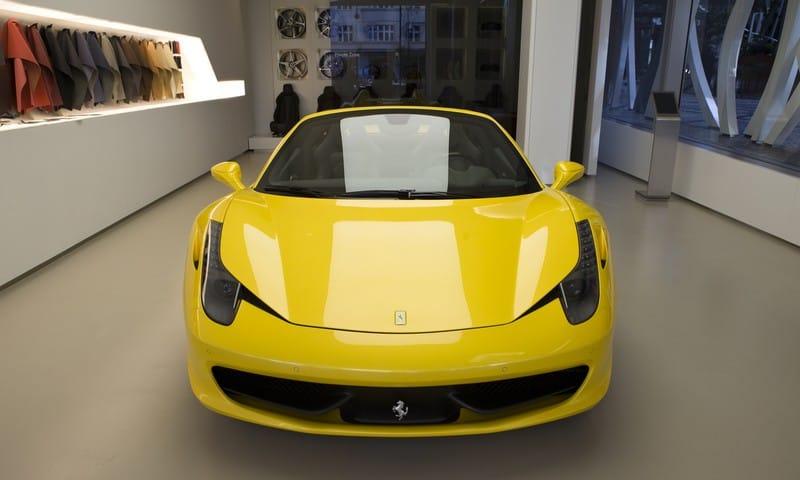 FOTOGALERIE: První Ferrari 458 Spider v Česku na živých fotkách