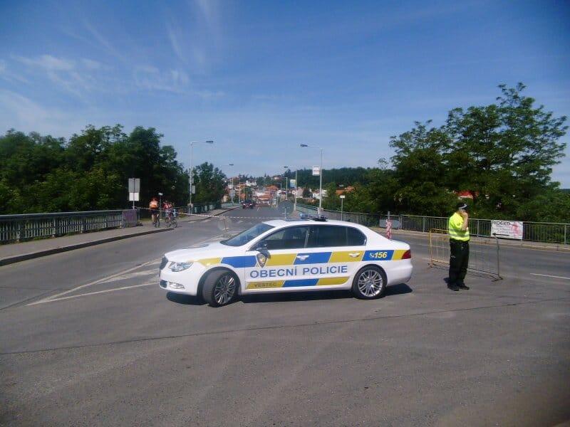 Obecní policie Vestec a radar Ramer 10C