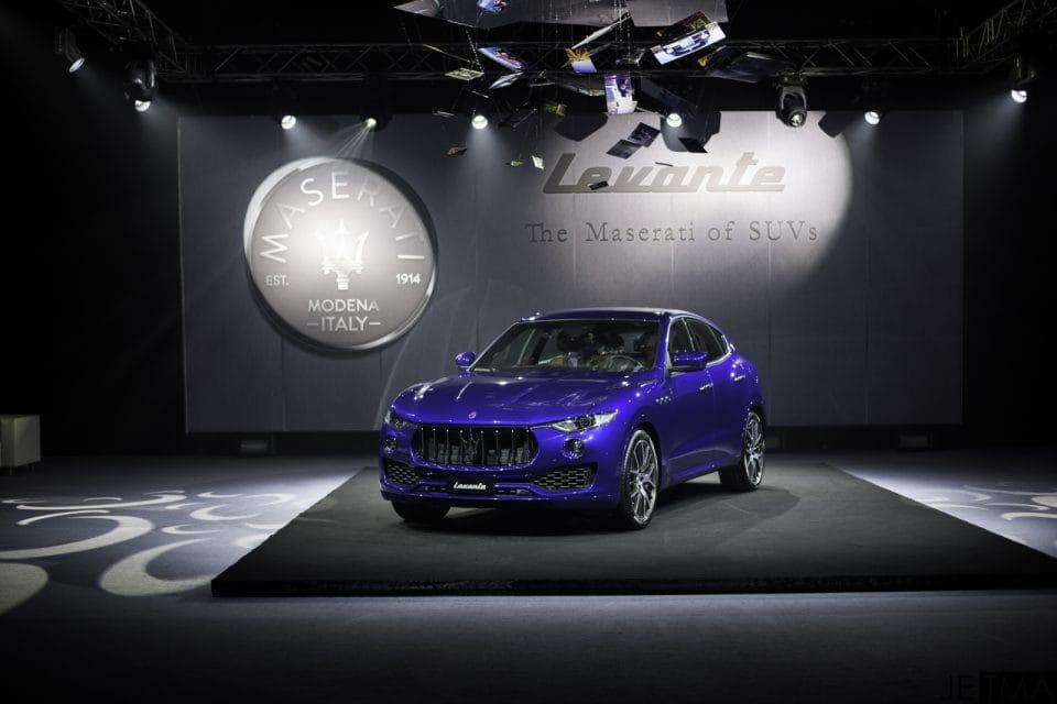 Česká premiéra. Scuderia představila SUV Maserati Levante, známe ceny