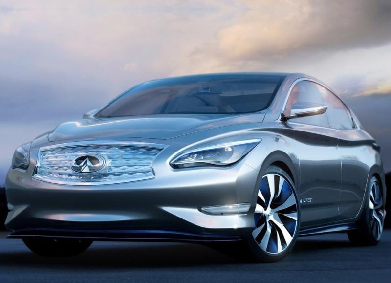Infiniti LE Concept: prémiový elektromobil nižší střední třídy