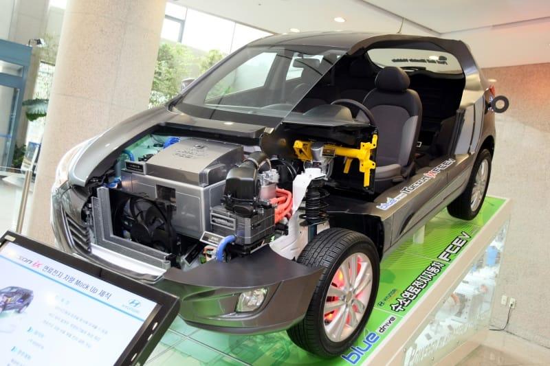Ženeva 2010: Hyndai Tucson ix35 FCEV – vodíková inovace