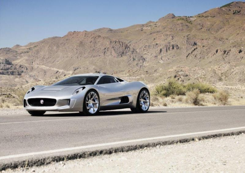 Jaguar bude vyrábět hybridní supersport C-X75