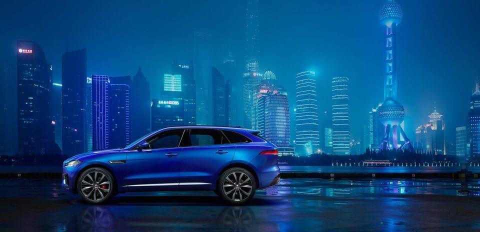 Frankfurt 2015: to je Jaguar F-Pace, první SUV s kočkou ve znaku