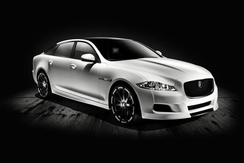 Jaguar XJ75 Platinum Concept: oslava 75. výročí značky
