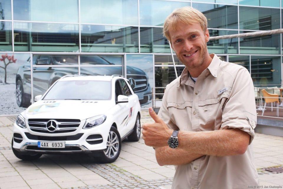 Rybář Jakub Vágner má nové auto: Mercedes-Benz GLE