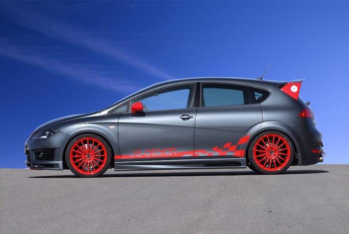 JE Design připravil novou sadu úprav pro Seat Leon Cupra R
