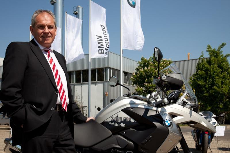 Závod BMW v Berlíně oslavil dva miliony vyrobených motocyklů