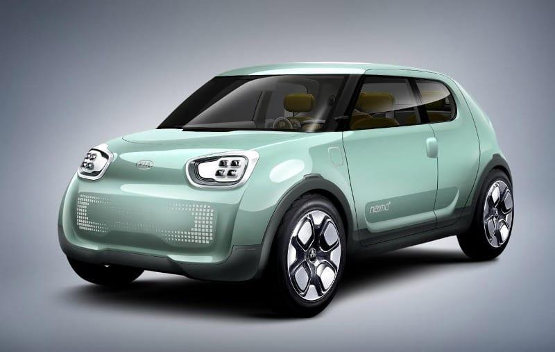 Koncept elektromobilu z Koreje: Kia Naim