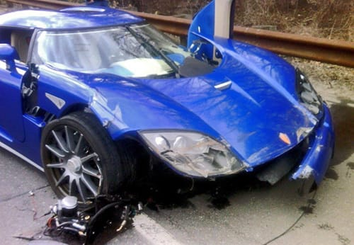 Americký dealer naboural raritní Koenigsegg CCX