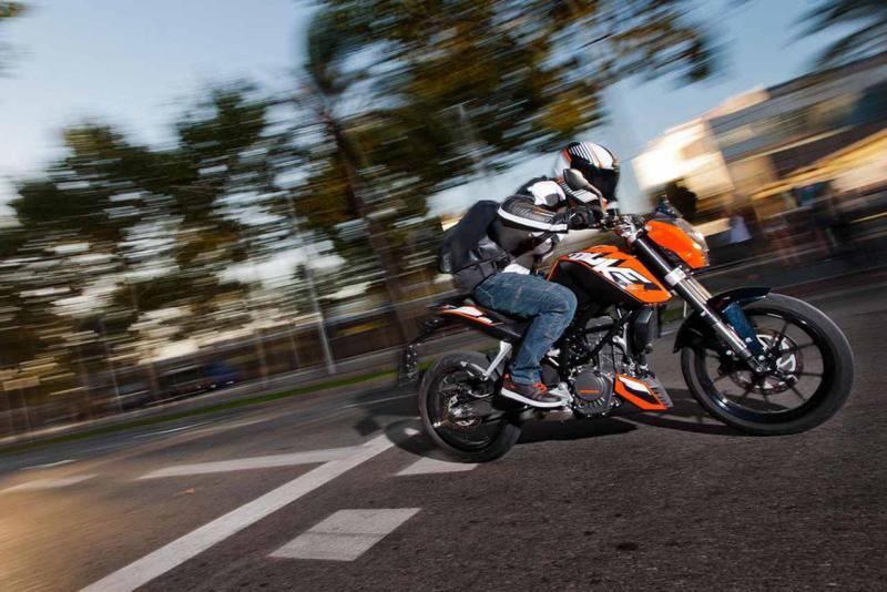 KTM Duke 200: teenager dospívá