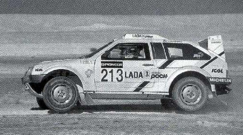 Před dvaceti lety: Lada Samara T3 míří do Dakaru