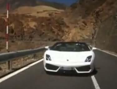 VIDEO: Lamborghini Gallardo LP560-4 Spyder v akci