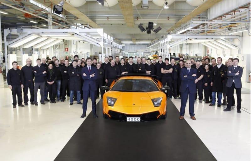 Lamborghini vyrobilo Murcielago číslo 4000. Supersport míří do Číny