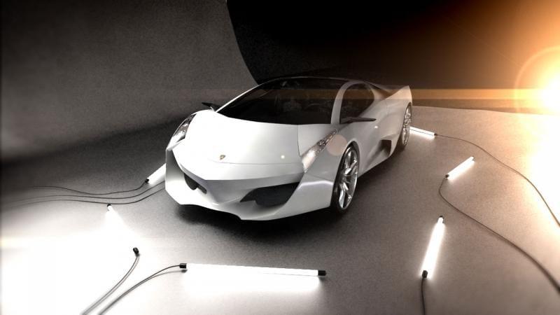 Designer Lockheed Martin naznačuje podobu příštího Lamborghini