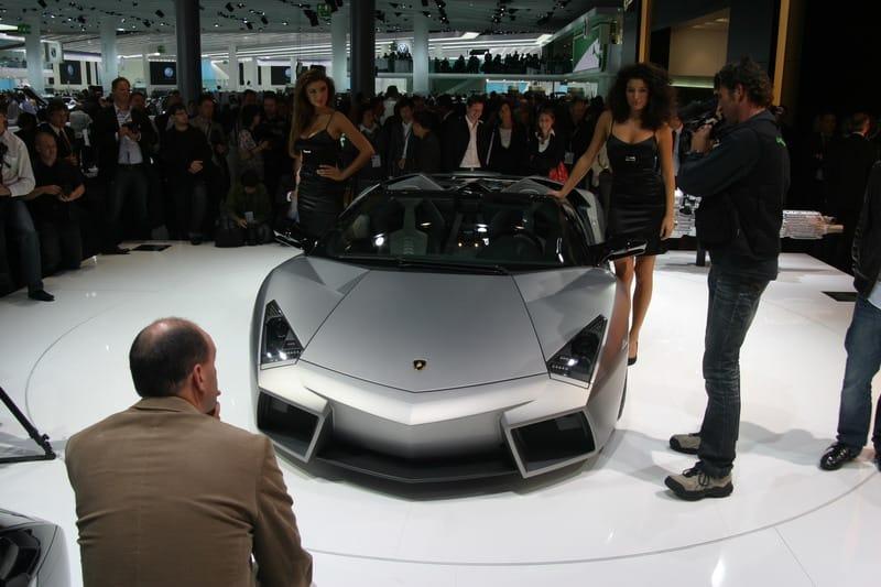 Frankfurt 2009: Lamborghini Reventón Roadster živě
