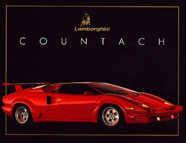 Před dvaceti lety: Lamborghini Countach 25th Anniversary