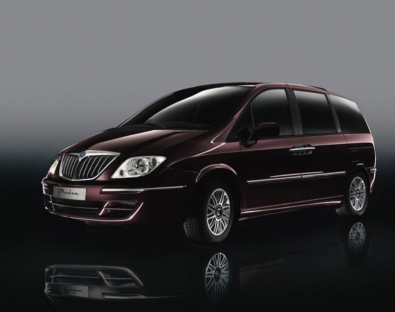 Lancia Phedra rozšíří v Česku výběr koncernových MPV