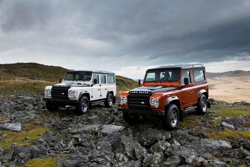 Land Rover Defender Fire & Ice: pracant zatoužil po luxusu