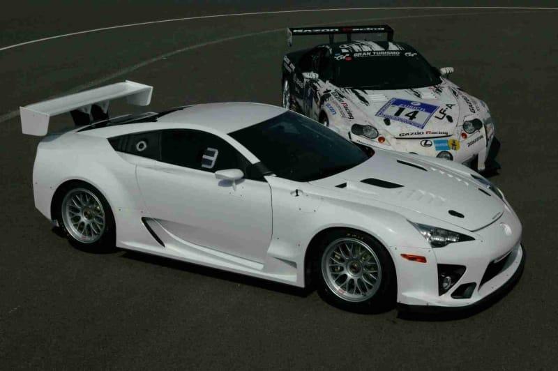Lexus LFA se chystá na Nürburgring v barvách Gazoo Racing
