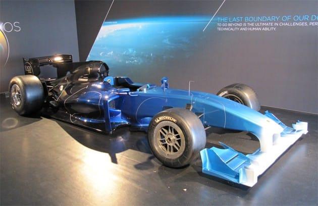 Lotus Exos Type 125: Formule 1 na prodej