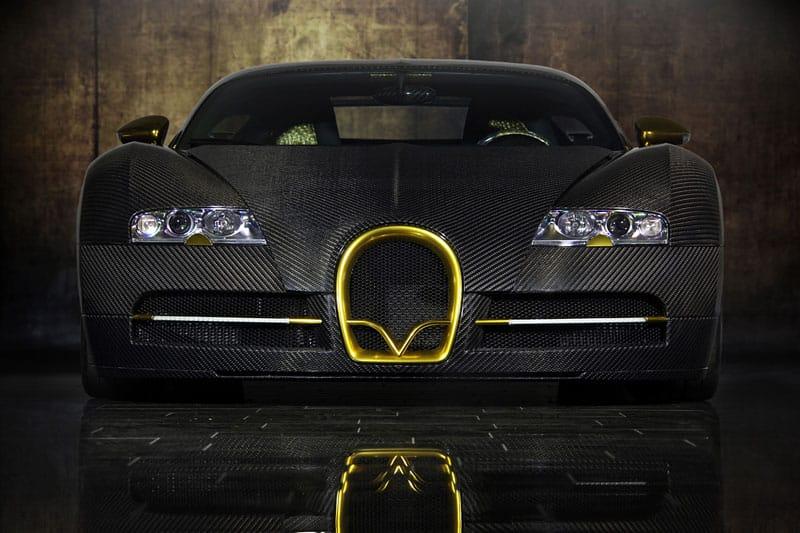 Mansory Bugatti Veyron 16.4 LINEA Vinceró d´Oro: karbon a zlato