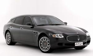 Maserati Quattroporte Bellagio bude stát 5,2 milionu