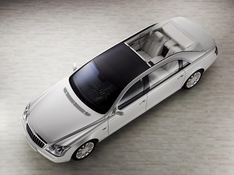 Maybach představí luxusní kabrio Landaulet