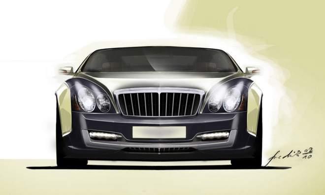 Maybach Coupe se objeví v limitované sérii