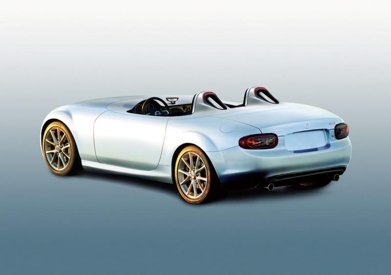 Koncept Mazda MX-5 Speedster: extrémní potěšení z jízdy