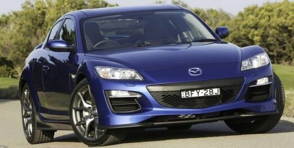 Mazda RX-8: Facelift na rozloučenou